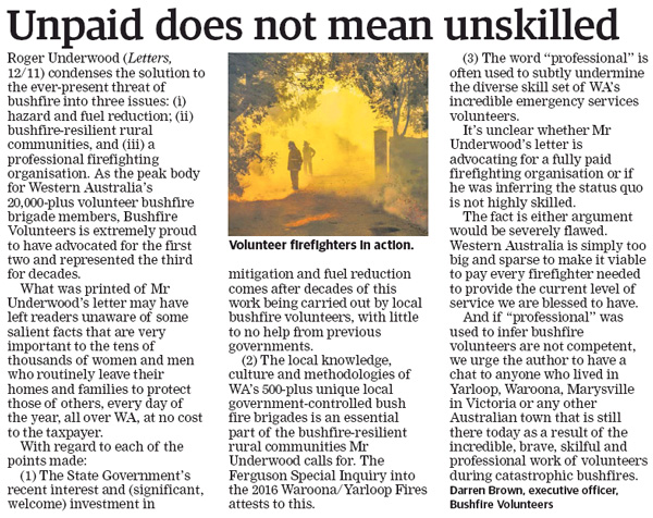 The West LTE: Unpaid does not mean unskilled