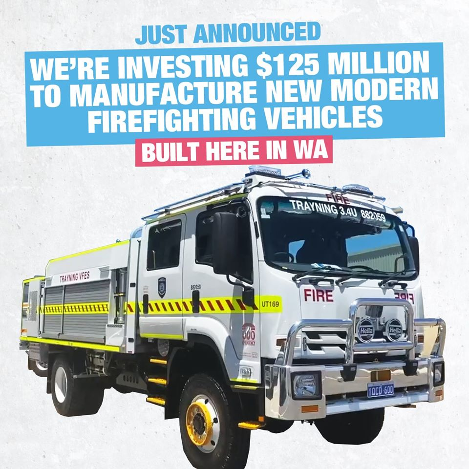 Frontline Fire & Rescue Equipment wins $125m contract; expands to Collie