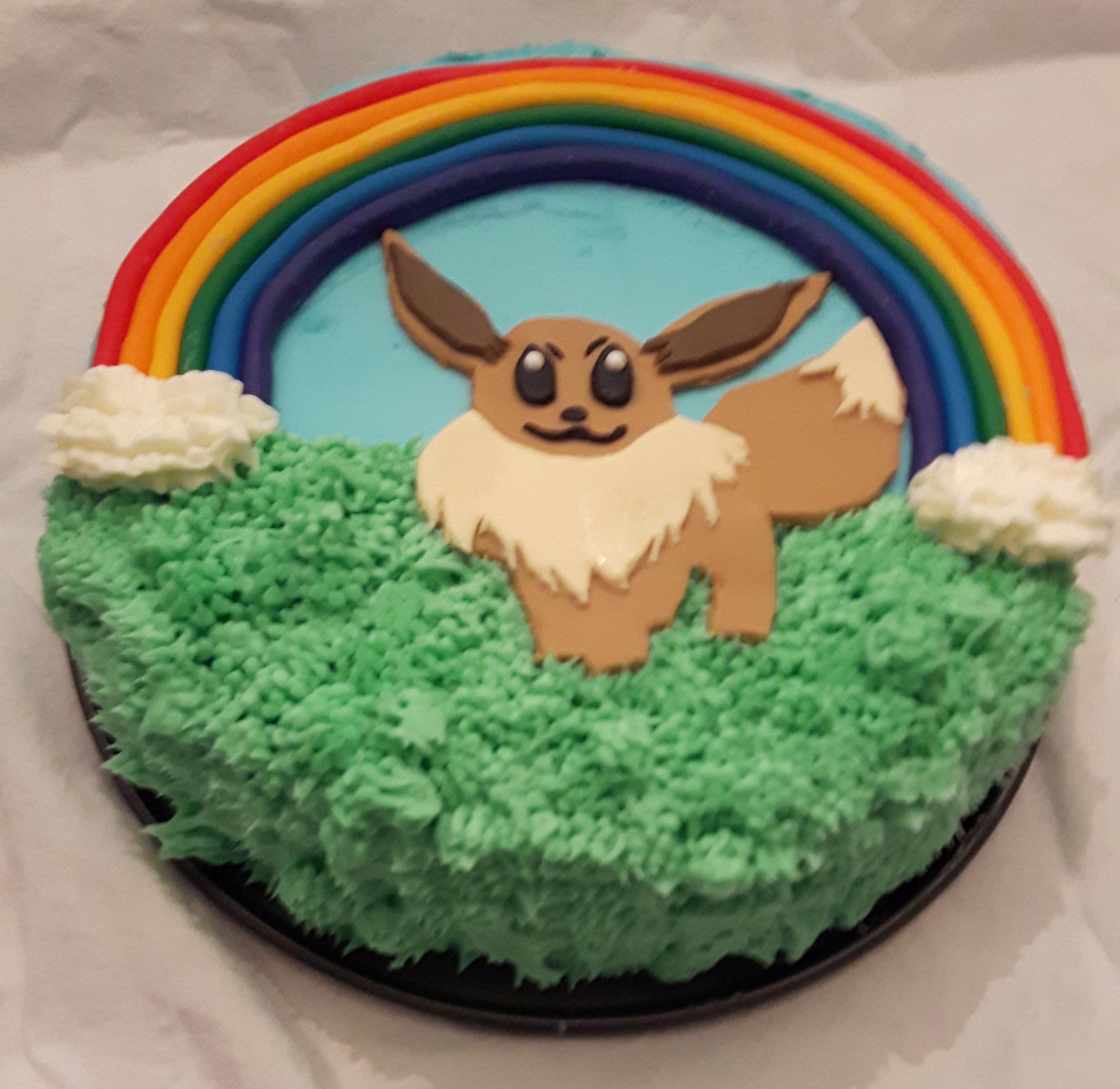eevee cake