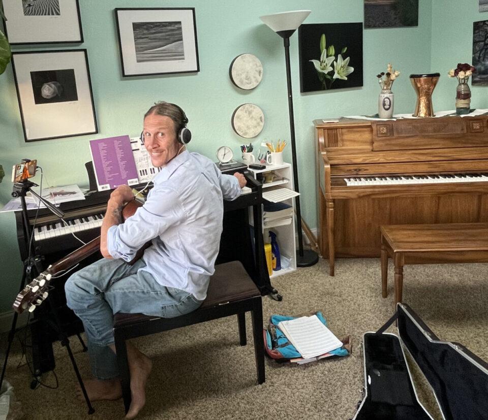 Fleck in the studio