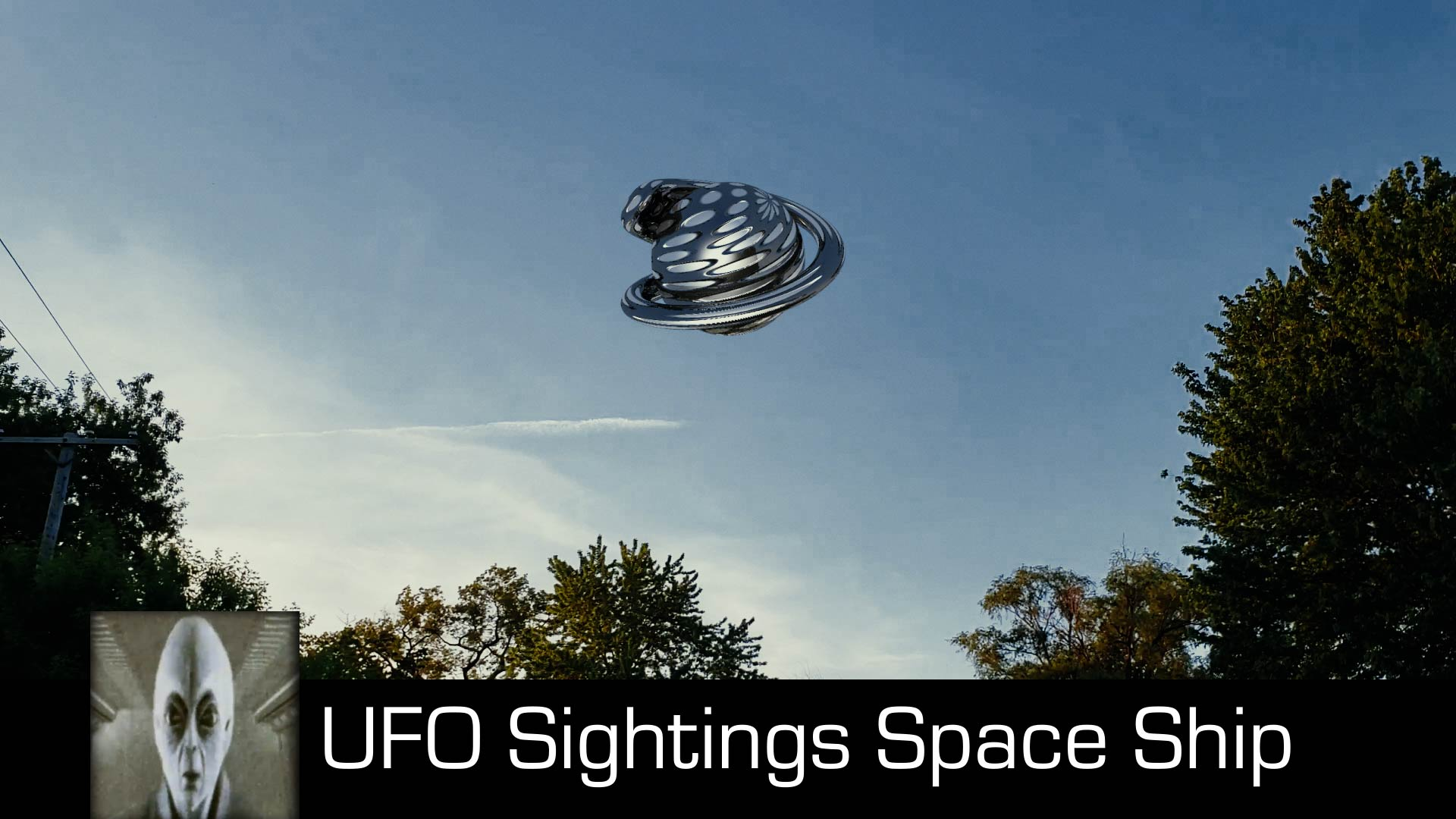 UFO Sightings Space Ship August 18th 2018