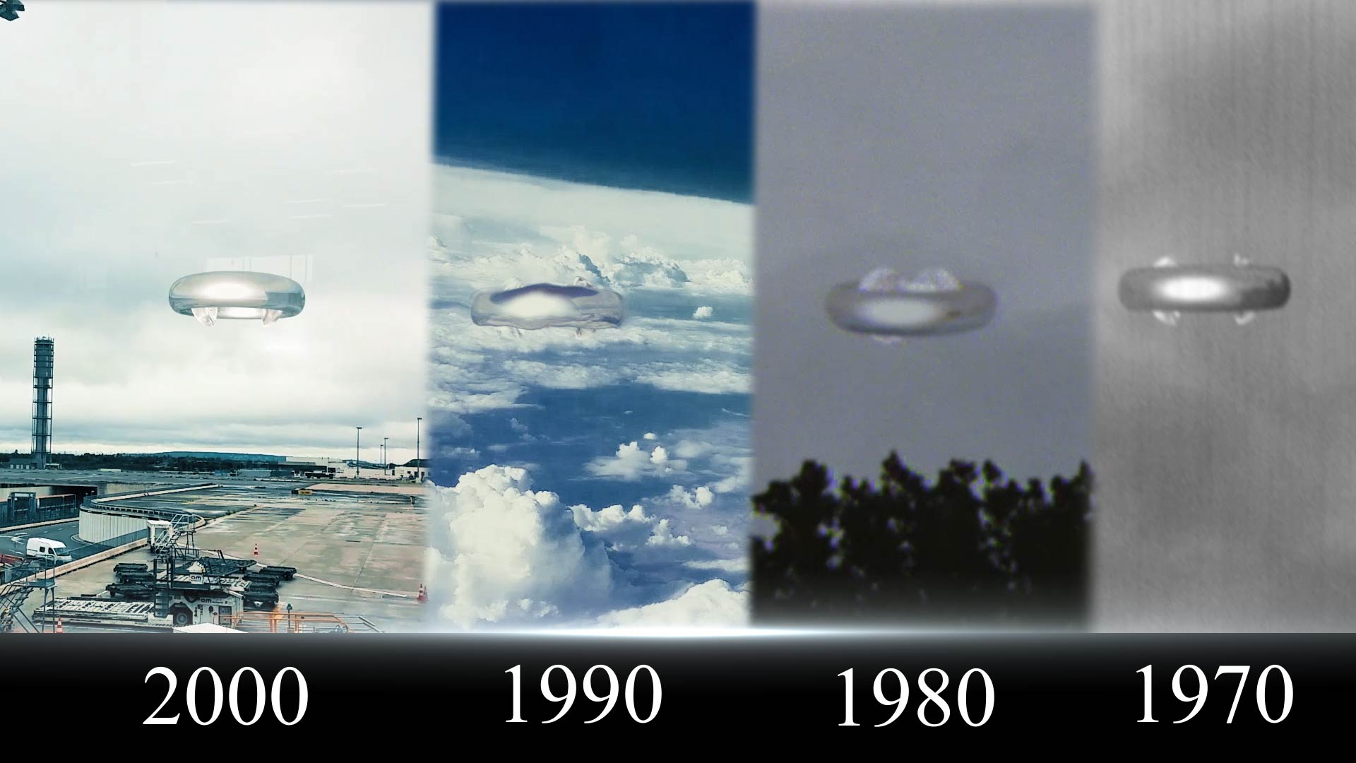 UFO Sightings Object Spotted In 1960s 1980s 1990s and 2000