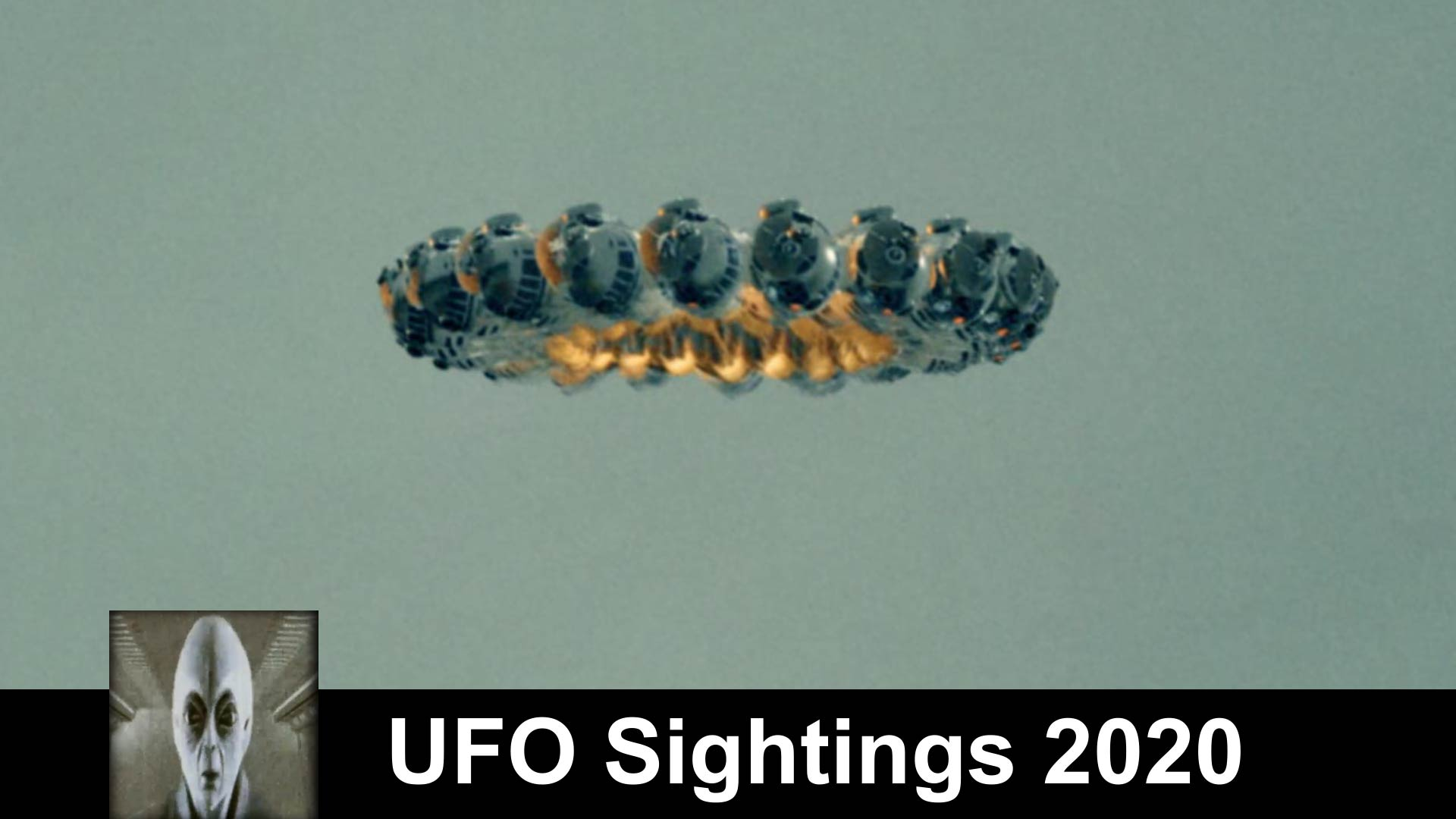 UFO Sightings Huge Object Hovers Over House
