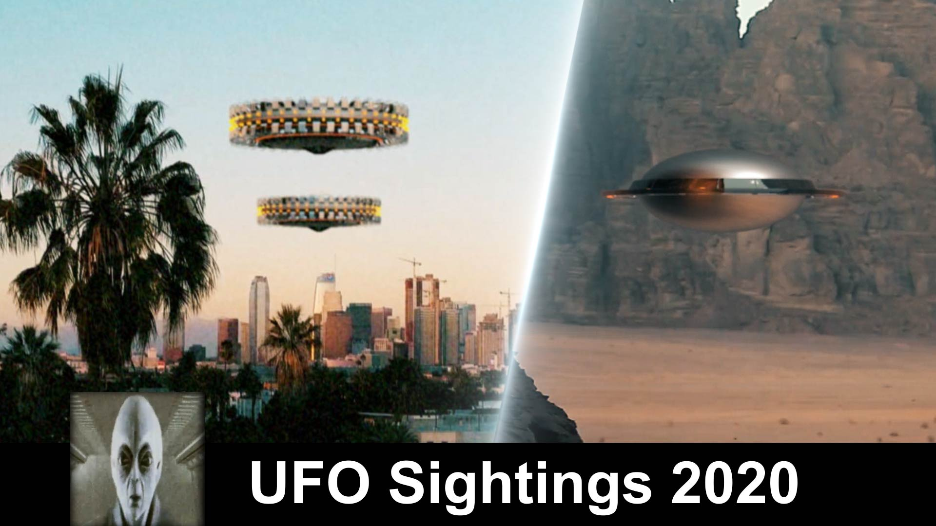 UFO Test Flight And UFOs Fly Over LA New Footage 2020