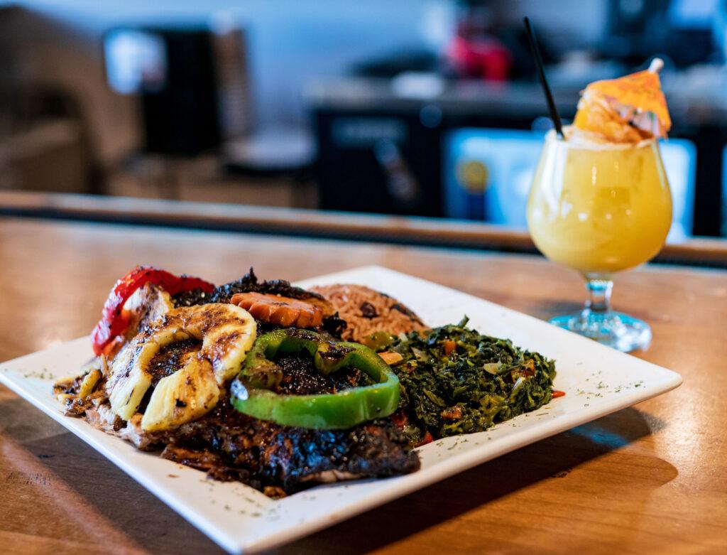The Island Spot Dallas Jamaican Food