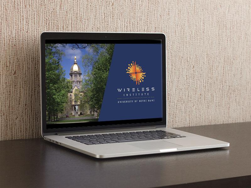 Notre Dame Wireless Institute Powerpoint Presentation