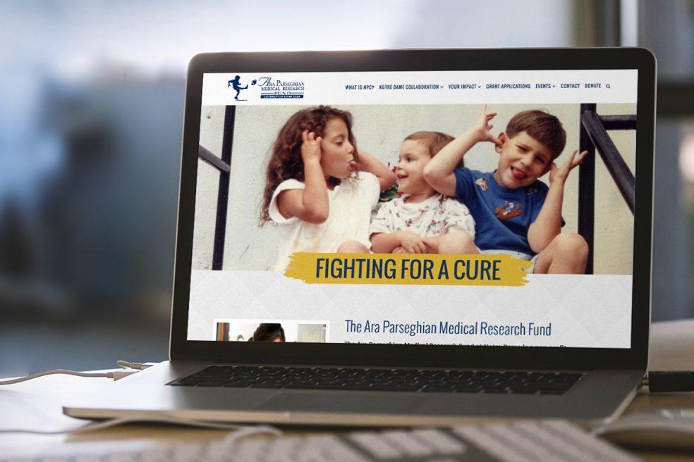 Ara Parseghian Medical Research Fund Website