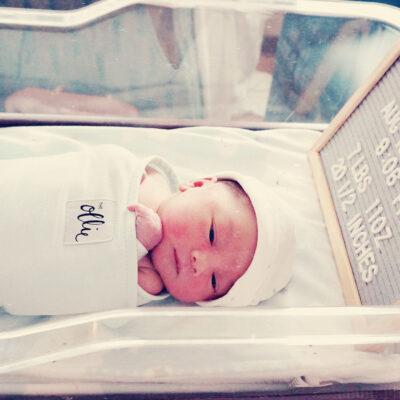 My Birth Story & Meet Liam
