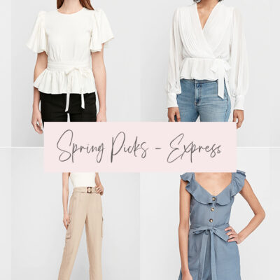 Spring Picks from Express
