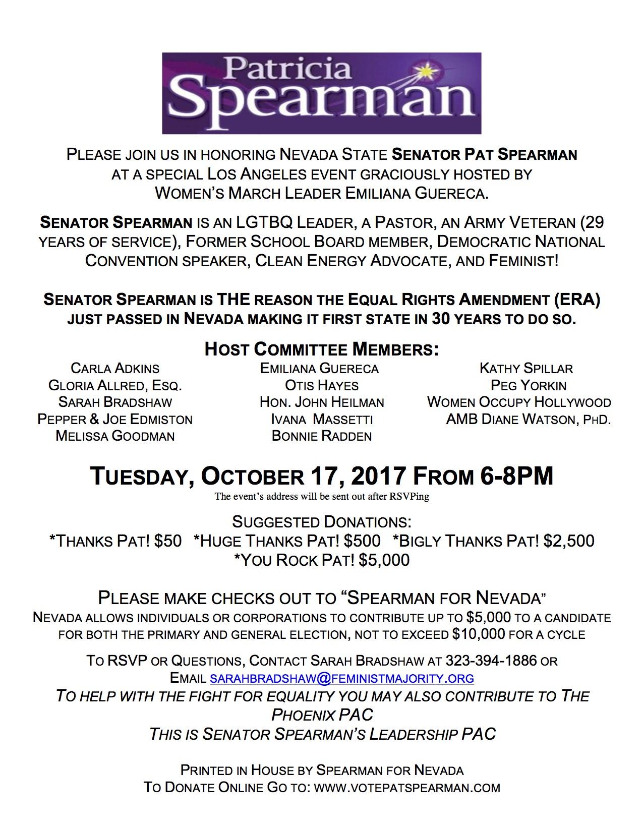 Invitation Spearman FR