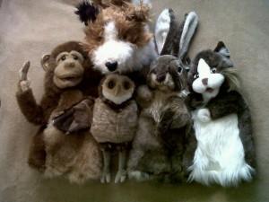 Stuffed animals  3-30-10