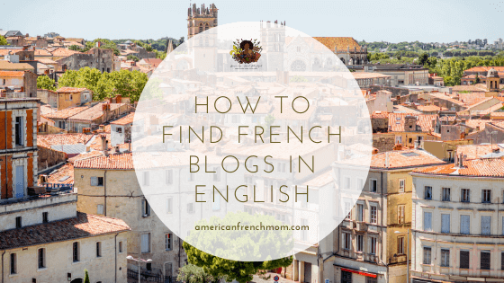 How to find french blogs in English