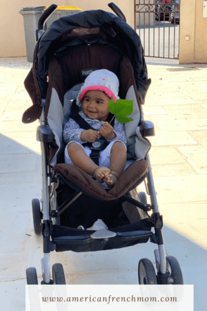 American mom and baby's First two weeks living  in France during Lockdown in Mudaison
