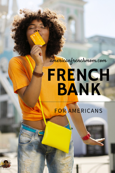 Carte Bleue for checking account abroad