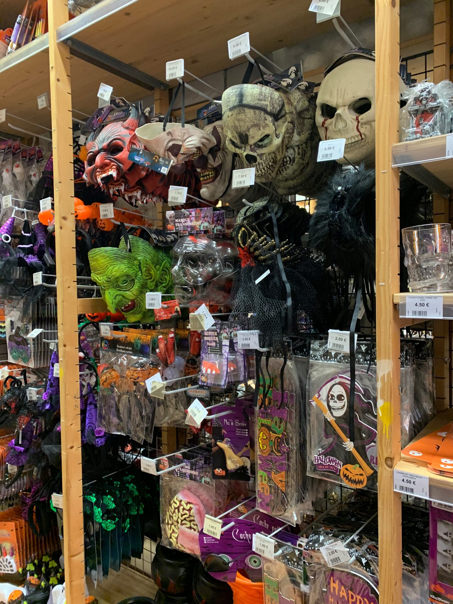 authentic french halloween items