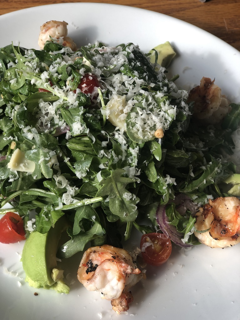 shrimp garga salad