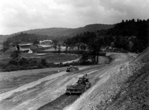 Wolcott - Hardwick road construction