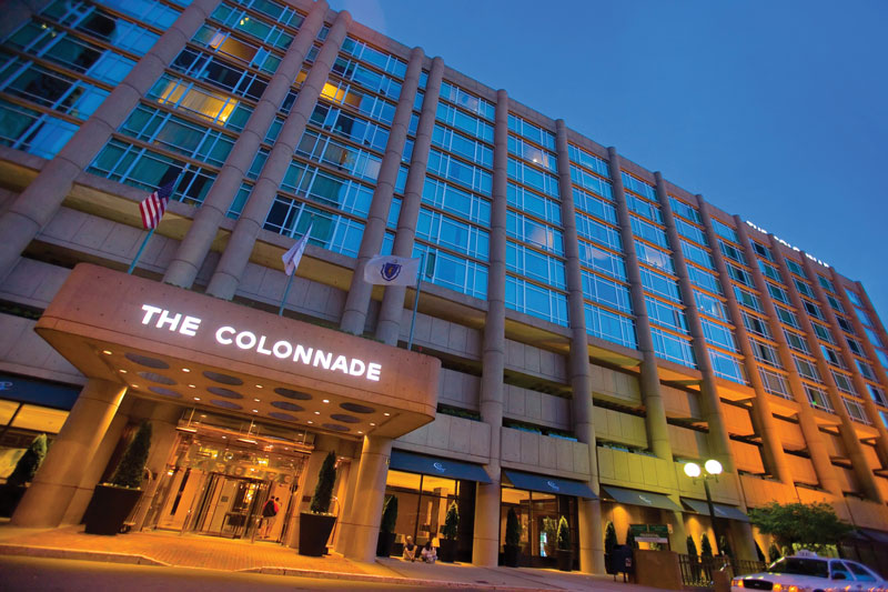 Peaceful, Ecofriendly Retreat at The Colonnade Hotel in Boston