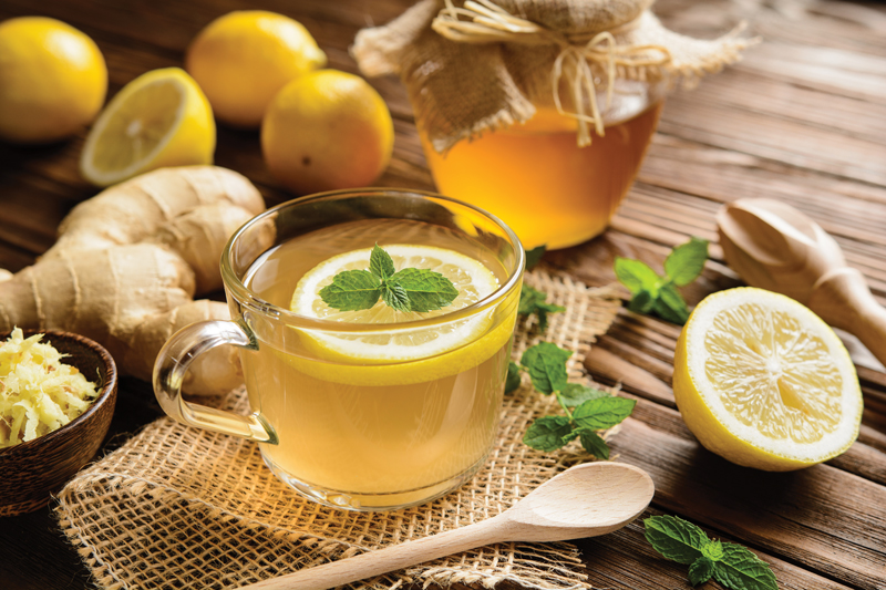 Ginger & Lemon Concentrate to Support Detoxification & Digestion