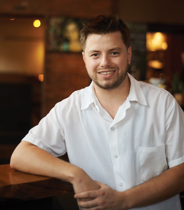 Chris Addley, Creative Chef and Champion of the Culinary Industry's Rising Stars,  Firebox Restaurant, Hartford, CT