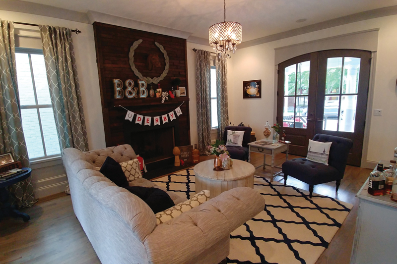 Comfort with a Splash of Bourbon at the Chateau Bourbon Luxury B&B in Louisville