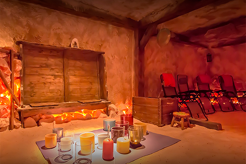 Salt Therapy Improves Respiratory & Immune Function