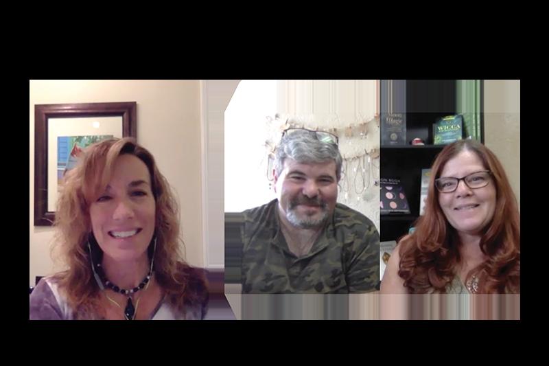 David Kaplan and Wendy Feltner of Mystical Bookshop