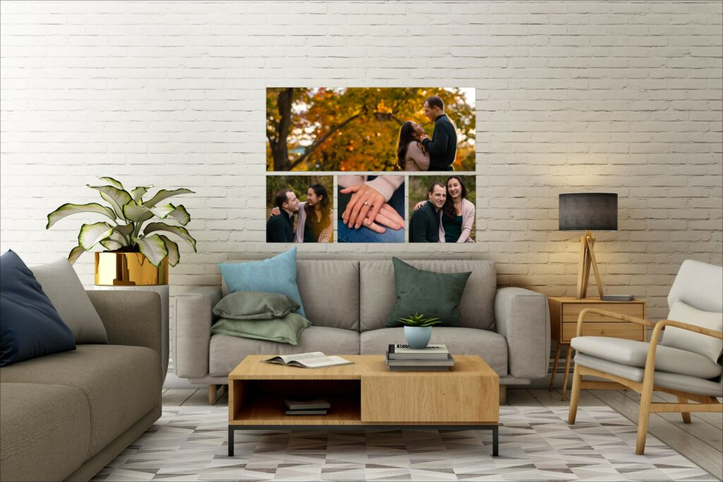 living room wall art collection