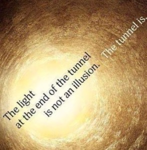 light at end of tunnel illusion