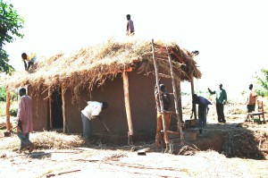 Kukaya is where men build houses and homes from nature.