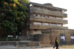 Africa Hall of Resident at the University of Zambia.
