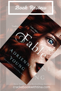 Fable by Adrienne Young Book Review Book Cover Pinterest  image