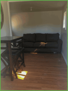 Tiny Cabin Couch