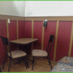 Tiny Cabin Dining Area