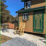 4-Person Tiny Cabin with Hot Tub