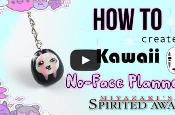 no-face planner Kaonashi from spirited away