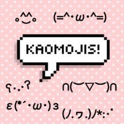 happy kawaii emoji faces kaomojis japanese emoticons