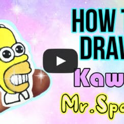 the simpsons kawaii homer simpson mr. sparkle