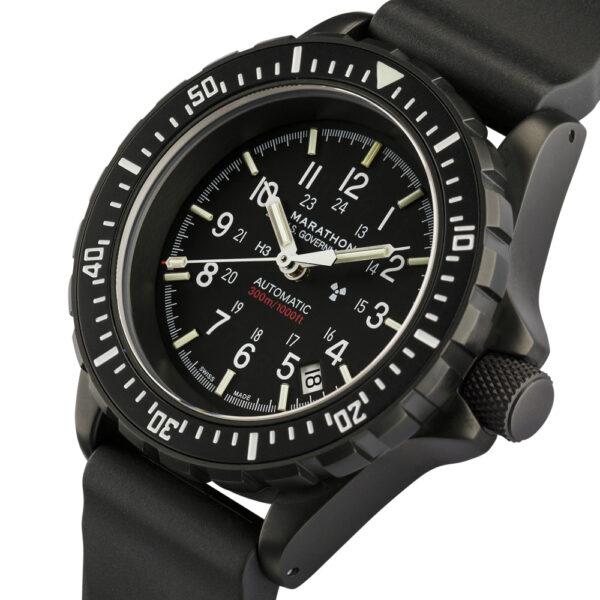 New Marathon black GSAR dive watch