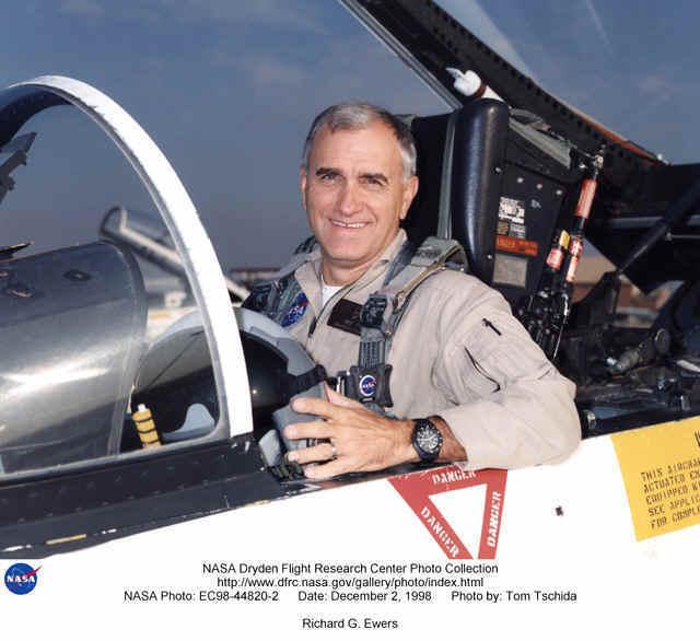 NASA pilot with Marathon Navigator Watch
