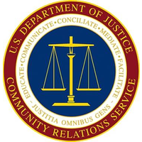 us dpt of justice comm relations