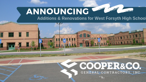 West Forsyth High School Additions & Renovations   Cooper & Company