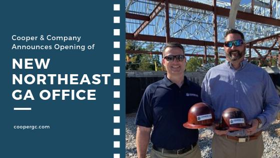 Northeast GA Office Announcement   Cooper & Company