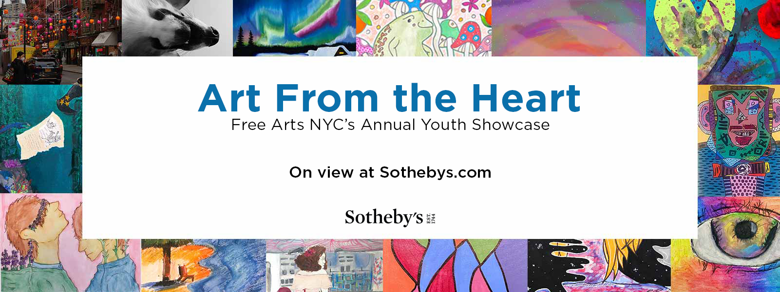 Art from the heart youth showcase