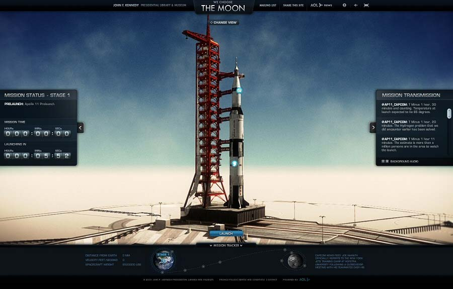 We Choose the Moon by The Martin Agency and Domani Studios