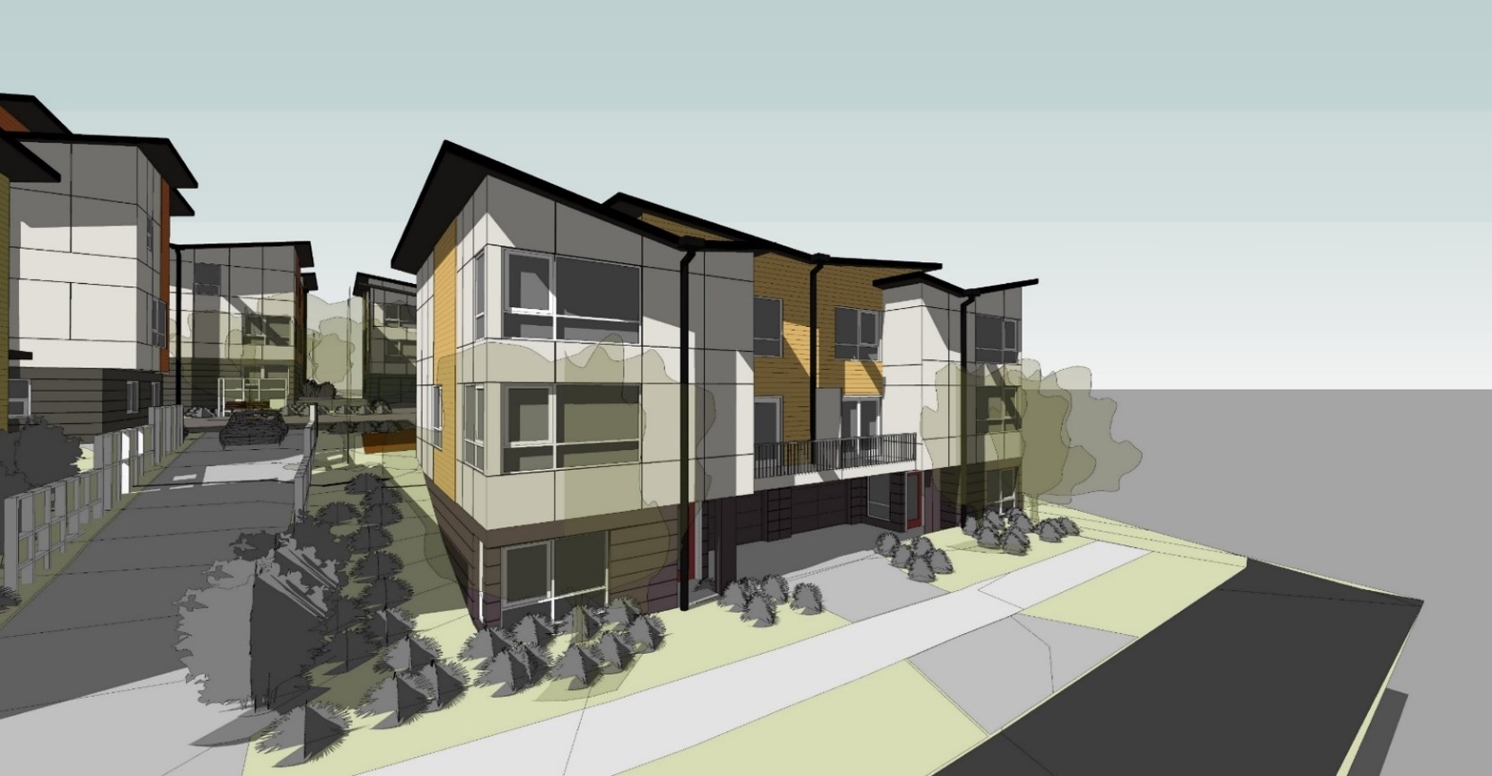 35th AVE Townhomes, parcel A,B