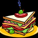 sandwich, food, cheese