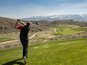 promontory.golfer