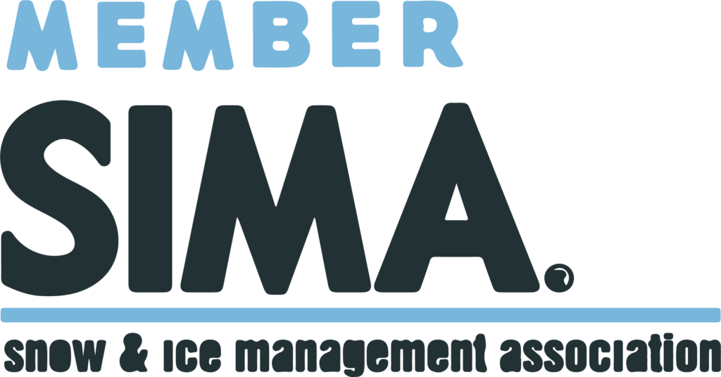 SIMA certified snow removal and ice