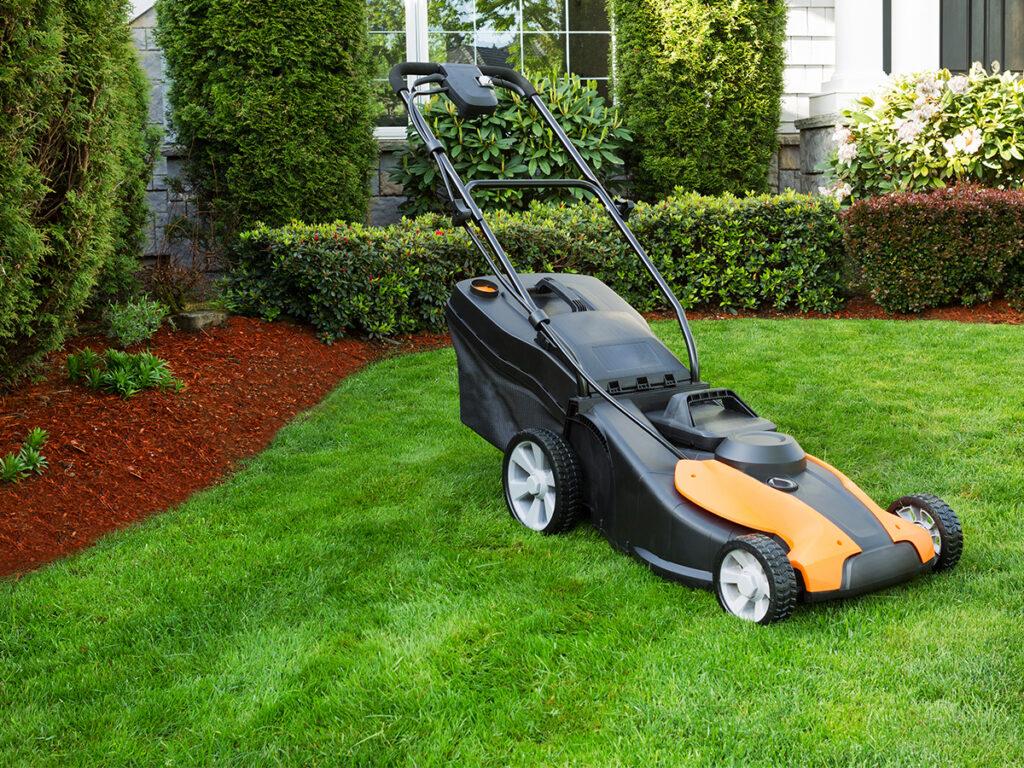 electric lawn mower advantages